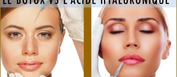 c est quoi la difference entre le botox et l acide hyaluronique